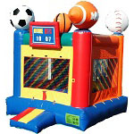 Larger & Themed Bounce Houses