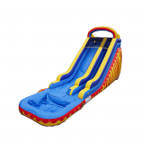 Extra Large Fire & Ice Water Slide