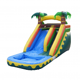 Large Tropical Water Slide